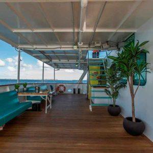 Our Vessels Back Deck Abrolhos Islands