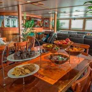 Our Vessels Saloon Abrolhos Islands