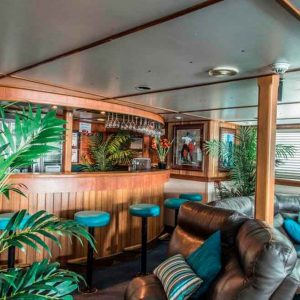 Our Vessels Saloon Bar Abrolhos Island