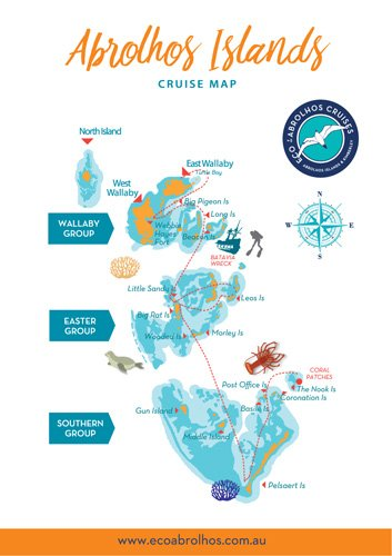 Abrolhos Charter map