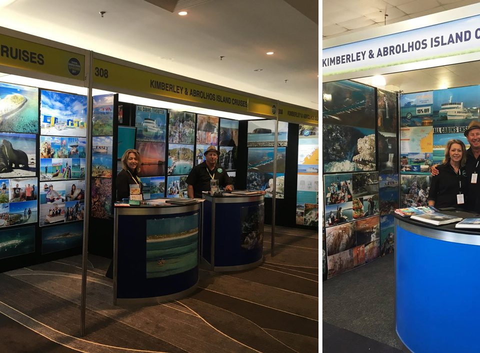 Eco abrolohos cruises at the camping shows
