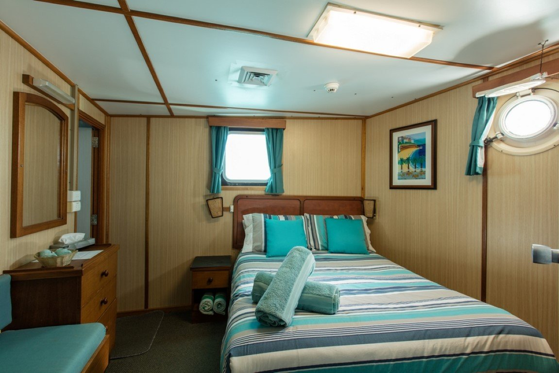 Middle Deck Double Bed Stateroom (Medium)