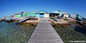 Fishing Camp at the Abrolhos Islands