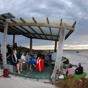 Sunset at Turtle Bay Shelter