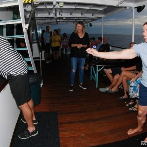 Darts night onboard the Eco Abrolhos