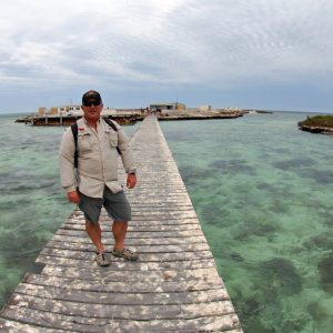 Jetty at the Abrolhos Islands