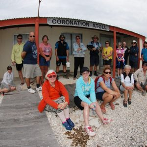 Coronation Fishermans Camp at the Abrolhos Islands