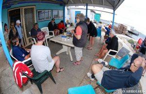 Coffee at Basille Island - Abrolhos Islands