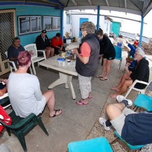 Coffee at Basille Island - Abrolhos Islands