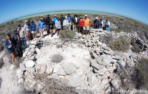 Webbes Fort at the Abrolhos Islands