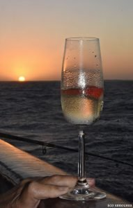 Bubbles at Sunset Abrolhos Islands