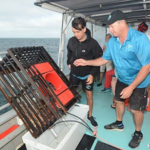 Craypot pulling at the Abrolhos Islands