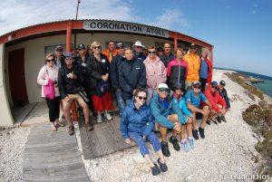 Eco ABrolhos Guests at Coronation Atol