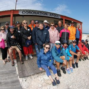 Eco ABrolhos Guests at Coronation Atol