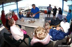 Meet Peter at Basille Island