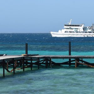 Wharf at the Abrolhos Islands