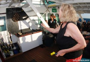 Darts on the Eco Abrolhos