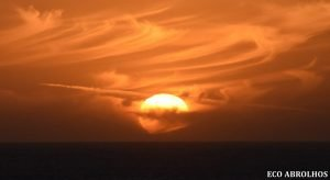 Sunset at the Abrolhos Islands