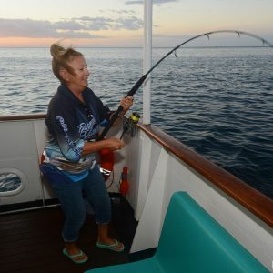 Fishing for snapper of the Eco Abrolhos