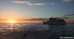Sunset over the Eco Abrolhos