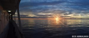 Sunrise at the Abrolhos Islands