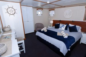 King bed deluxe cabin