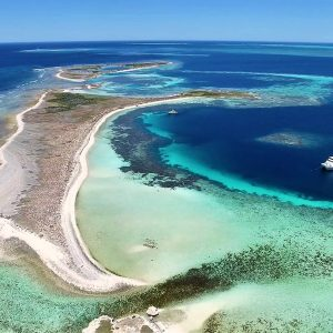 Morley Island at Abrolhos Islands
