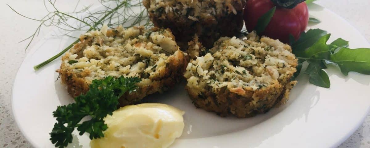 crayfish & fennel muffins